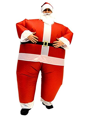 Santa Claus Mankini # Christmas Fancy Dress Man Kini