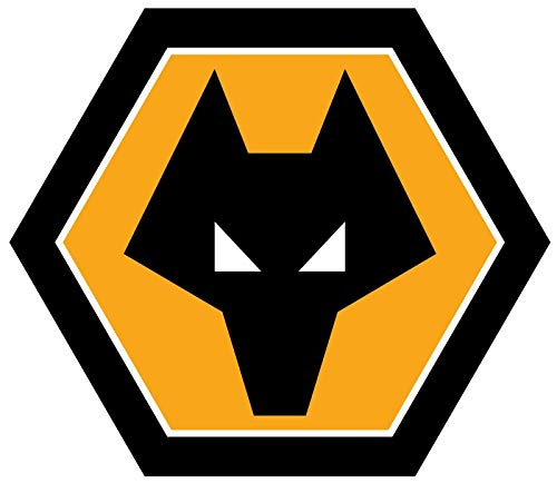 (Crazy Discount Wolverhampton Wanderers F.C. Soccer Vinyl Sticker Decal Outside Inside Using for Laptops Water Bottles Cars Trucks Bumpers Walls, 3