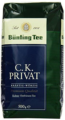 Bünting Tee C.K. Privat Echter Ostfriesentee 500 g lose, 2er Pack (2 x 500 g)
