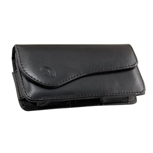(Technocel Premium Leather Case for Samsung Epic 4G - Universal Extra Large with Magnet Closure - Black)