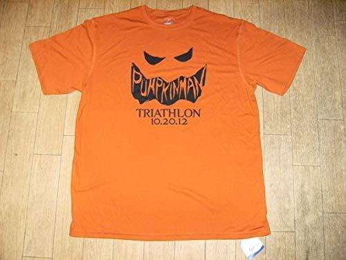 USA ハロウィン パンプキンマン トライアスロン Tシャツの商品画像
