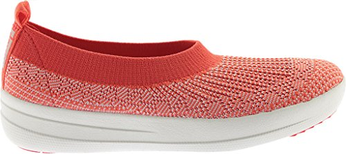 Punta Hot Fitflop Ballerina Chiusa on Coral Uberknit Donna Slip Irqwz0q