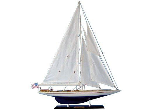 Hampton Nautical  Enterprise Sailboat, Limited Edition, 27