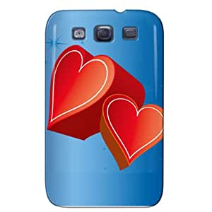 Slim Fit Design For Galaxy S3 Protective Hard Case Navy NEw3p5wbLdS