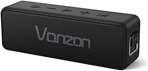 【Upgrade】 Bluetooth Speakers X5 Pro- Portable Wireless Speaker V5.0 with 20W Loud Stereo Sound, TWS, 24H Playtime & IPX7 Waterproof, Suitable for Travel, Indoors and Outdoors,Vanzon