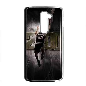 EROYI SAN ANTONIO SPURS Basketball NBA Black Phone Case for LG G2