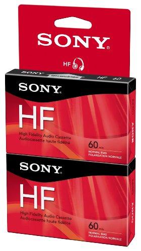 Sony C60HFR/2 60 Minute HF Audio Tape (Hang Tab) (Hf Audio)