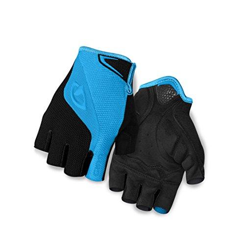 Giro Bravo Bike Glove - Blue Jewel/Black Large (Gel Bike Gloves)