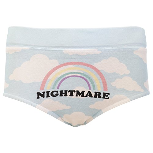 Disturbia Nightmare Alternative Womens Knickers - Lge / UK 12 / US 8 / EU 40 (Alternative Lingerie compare prices)