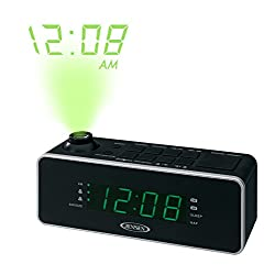 JENSEN JCR-235 Dual Alarm Projection Clock Radio