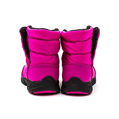 Polo Ralph Lauren Polo Draeden College Pink Nylon Snow Boots College Pink