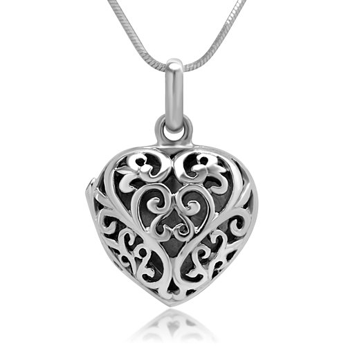 925 Sterling Silver Locket - 6