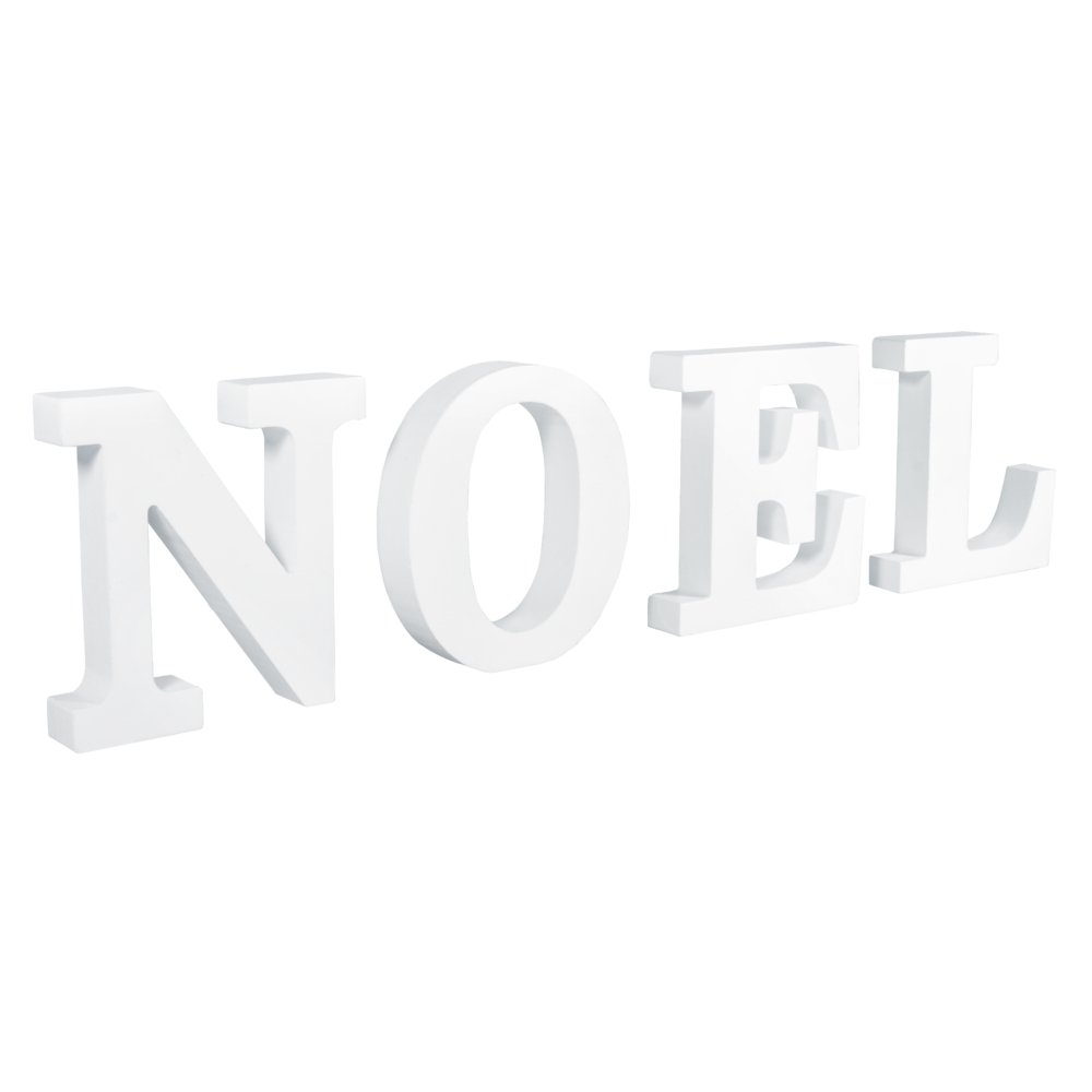 Rayher  –   MDF Lettere Noel, Diverse, 9,7  x 2,8  cm x 0.22 7 x 2 8 cm x 0.22 Rayher Hobby GmbH 62779000