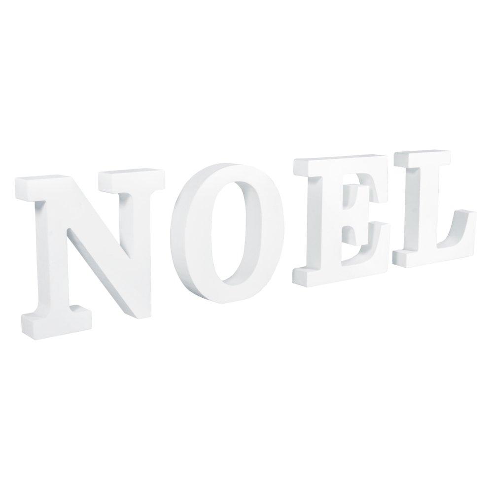 Rayher –  MDF Lettere Noel, Diverse, 9,7 x 2,8 cm x 0.22 7x 2 8cm x 0.22 Rayher Hobby GmbH 62779000