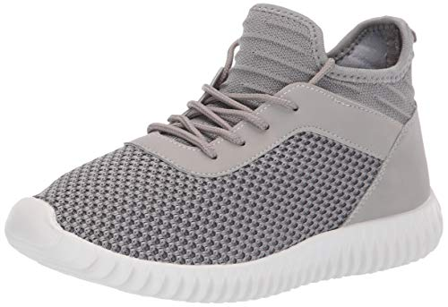 Dirty Laundry by Chinese Laundry Women's Harlen Sneaker Grey Knit 7.5 M US