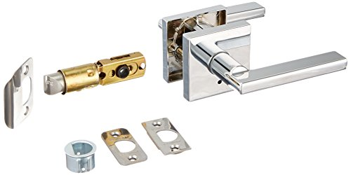 kwikset 155hflsqt26 halifax square entry chrome