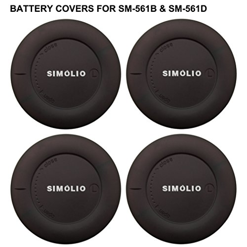 4 Pack of Simolio Replacement Battery Covers for Infrared Wireless Headphones