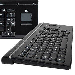 Logitech MediaBoard Pro 86-Key Bluetooth Wireless Keyboard for PlayStation 3 (Black)
