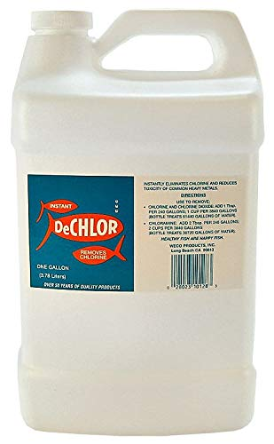 (Weco DeChlor Water Treatment, 1 Gallon)