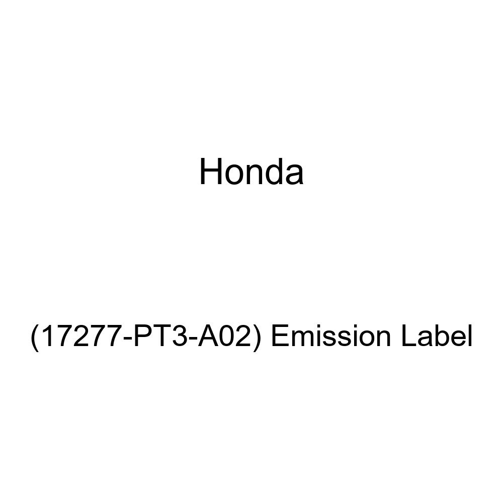 17277-PT3-A02 Emission Label Genuine Honda
