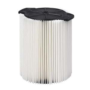 Taller mojado/seco VACS ws21200F estándar filtro para aspiradora Shop, 5A 16-Gallon Tamaño: 5A 16L Estilo: 1Pack, Modelo: ws21200F, Tools & hardware Store