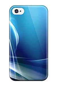 ZippyDoritEduard QKywqWH1162XzeaT Case For Iphone 4/4s With Nice Abstract Blue Appearance