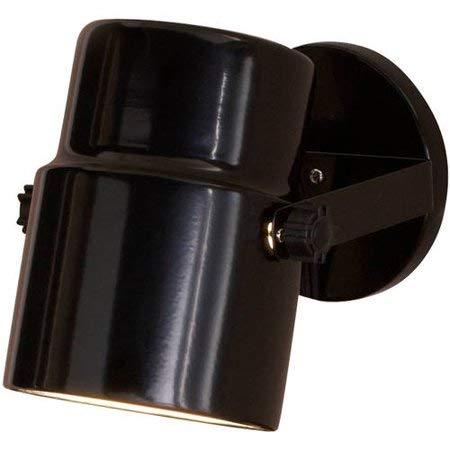 Mainstays 7.5'' Spotlight Accent Lamp, Black Finish (Pack of 4)