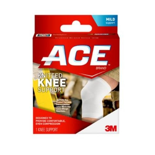 3M Health Care 207305 ACE Knee Brace, Large, White (Pack of 12) by 3M Health Care (Image #1)