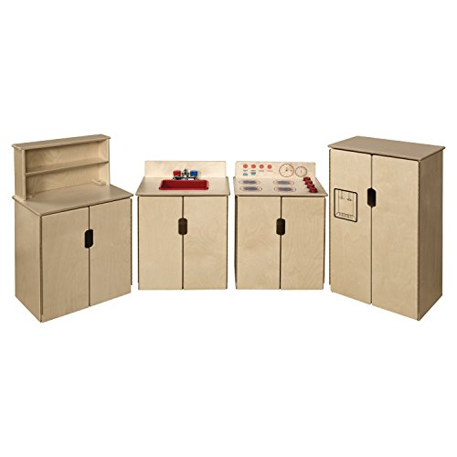 Wood Designs 10082 Tip-Me-Not Appliances (Pack of (Birch Natural Hutch)