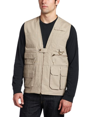 (5.11 Tactical #80001 Tactical Cotton Vest (Khaki X-Large))