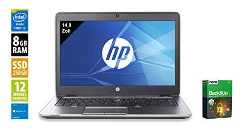 HP EliteBook 840 G2 | Notebook | Laptop | 14,0 Zoll (1600×900) | Intel Core i5-5300U @ 2,3 GHz | 8GB DDR3 RAM | 250GB…