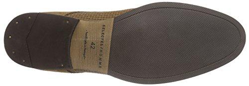 Selected Shdbolton Braided Shoe Herren Derby Braun (Tan)
