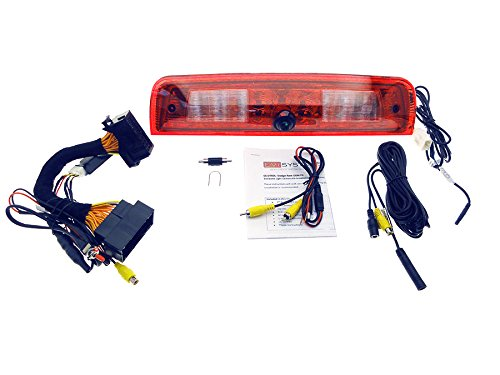Ram OE Fit 3rd Brake Light Camera Kit, for Trucks with Factory Tailgate Cam, View On Factory - Cam Brake