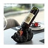ARAIDECOR Wine Rack (Bear wine shelf)