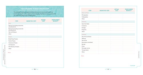 the budget savvy wedding planner organizer checklists worksheets