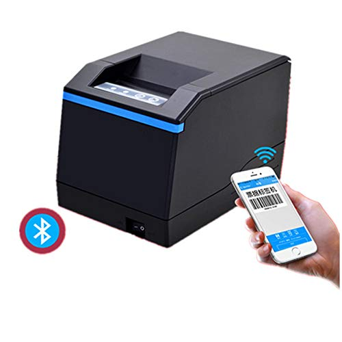 FAY Label Maker,Bluetooth Thermal Label Printer,80Mm USB High Speed Printing Up to 152Mm/Sec for Label Transport Office Retail Barcode by FAY