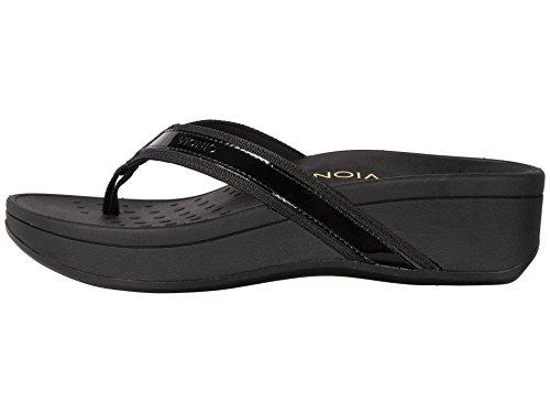 Vionic Avec Orthaheel Femmes Marée Haute Sandale Noir / Noir