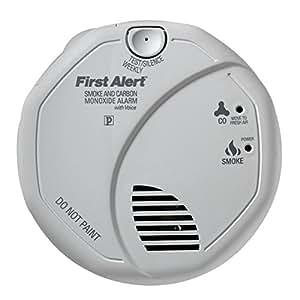 First Alert SCO5CN Battery Operated Combination Carbon Monoxide/Smoke Alarm
