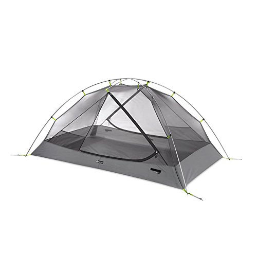 Cheap Nemo Galaxi 2P Backpacking Tent and Footprint (Birch Leaf Green)