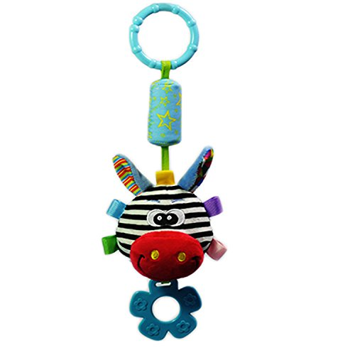 Yoovi Baby Rattle Toy Kids Stroller Baby Car Crib Stroller Toys 1 pc- Zebra