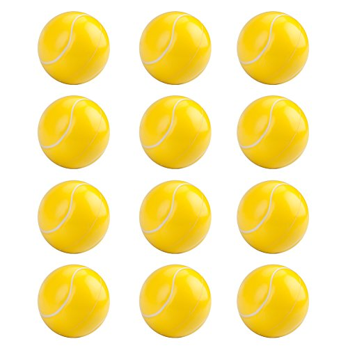 GOGO Tennis Stress Balls / Hand Exercises Squeeze Balls 12 Pack