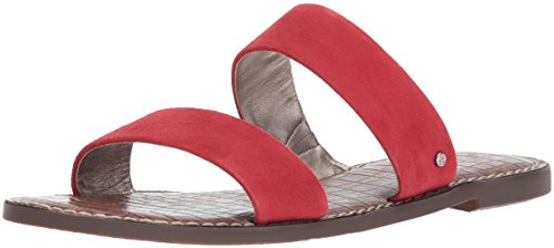 Sam Edelman Womens Gala Slide Sandal Red B4go59XC9