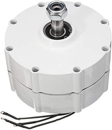 LQQ 400w/500w/600w/800w 12/24/48v Permanentmagnetgeneratormotor Windgeneratormotor Für Windturbinen Blade Controller 3-phasen-Strom PMSG,800W-12V