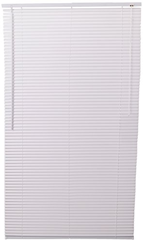 Achim Home Furnishings 1-Inch Wide Window Blinds, 37 by 64-Inch, - 37 Wide Blinds Window