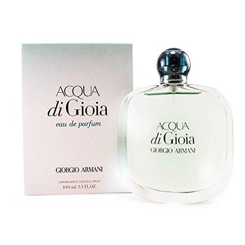 Perfume Jasmine Giorgio (Giorgio Armani Acqua Di Gioia Eau de Parfum Spray, 3.4 Ounce)