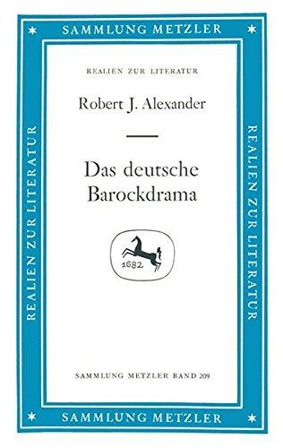 Das deutsche Barockdrama (Sammlung Metzler)