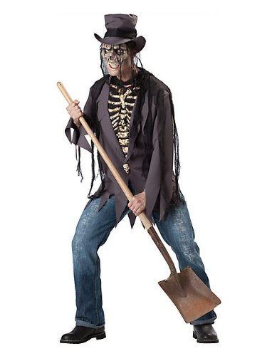 [Grave Robber Costume - Large - Chest Size 42-44] (Robber Adult Costumes)