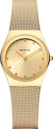 Bering Time 12927-333 Women Classic Collection Watch with Stainless-Steel Strap and scratch resistent sapphire crystal. Designed in Denmark