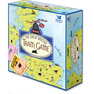 GREAT BRITISH TRAIN GAME - READERS DIGEST BOARD GAME
