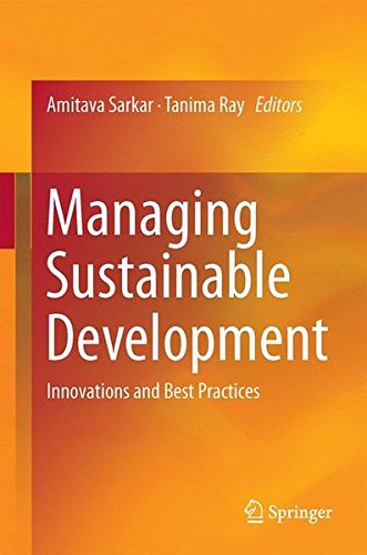 Managing Sustainable Development: Innovations and Best Practices